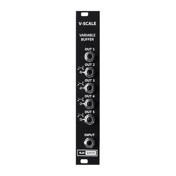 AJH Synth V-Scale Variable Buffer Eurorack Module, Dark Edition