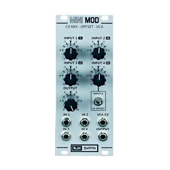 AJH Synth Polarising Mixer/VCA Eurorack Module, Silver
