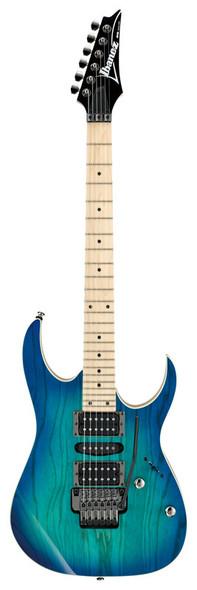 Ibanez RG370AHMZ-BMT Electric Guitar, Blue Moon Burst