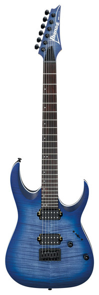 Ibanez RGA42FM-BLF Electric Guitar, Blue Lagoon Burst Flat Finish