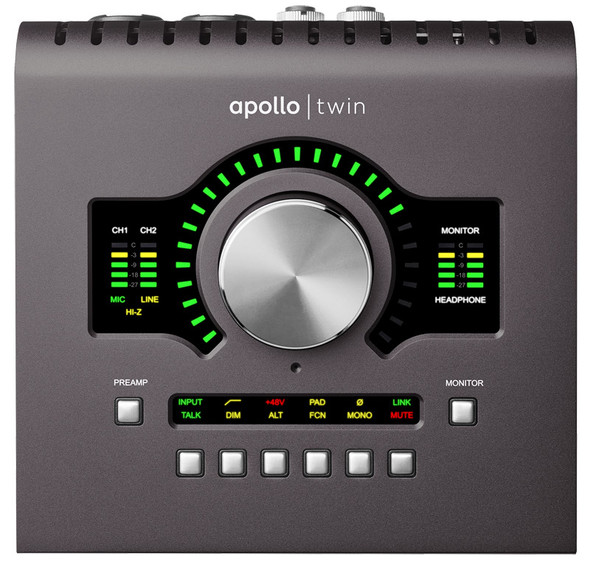 Universal Audio Apollo Twin Duo MKII Thunderbolt Interface with DSP