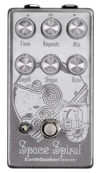 EarthQuaker Devices Space Spiral Delay Effects Pedal