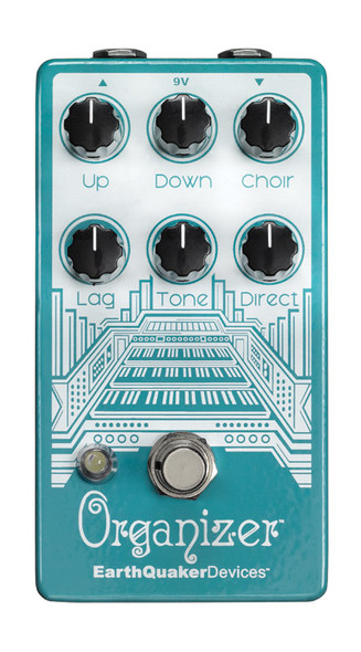 EarthQuaker Devices OrganizerV2 Polyphonic Organ Guitar Effects Pedal