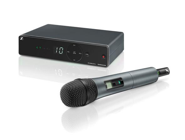 Sennheiser XSW1-825 Vocal Set Handheld Wireless Microphone System, Channel 38