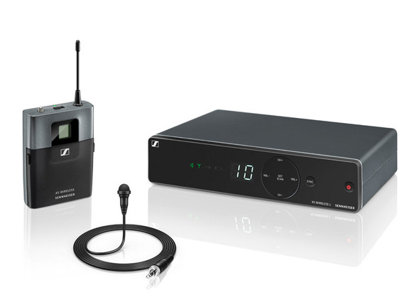 Sennheiser XSW1-ME2 Lavalier Set Wireless Microphone System, Channel 38