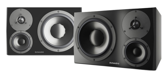 Dynaudio LYD-48 Active 3-Way Studio Monitors, Black (Pair)