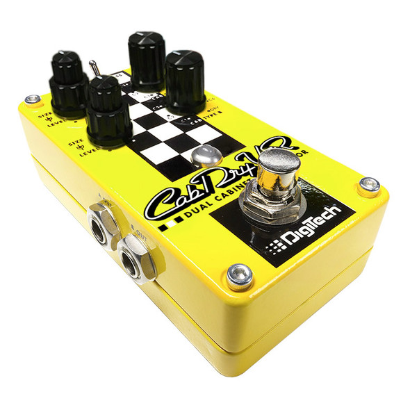DigiTech CabDryVR Cabinet Simulator Guitar Effects Pedal