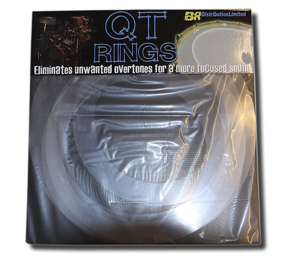 QT Rings Drum Overtone Control System, Fusion Sizes