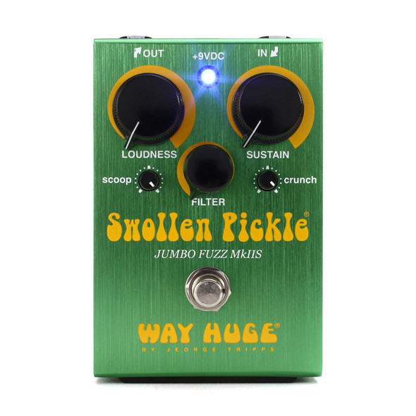 Way Huge Swollen Pickle Mkiis Fuzz Effects Pedal