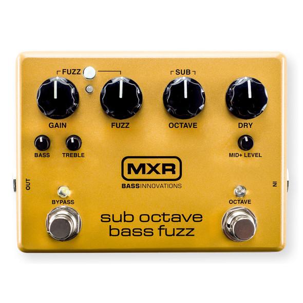 MXR M287 Sub Octave Bass Fuzz Effects Pedal