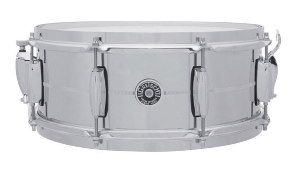 Gretsch USA Brooklyn 14 x 5.5 COS Chrome over Steel Snare Drum