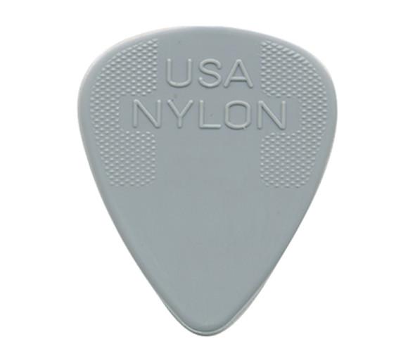 Dunlop Nylon 0.73 Standard Plectrum, Pack of 12