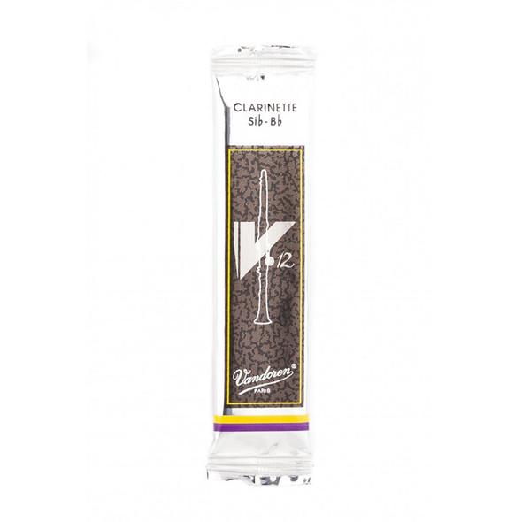 Vandoren V12 Bb Clarinet Reed, Strength 3, Single