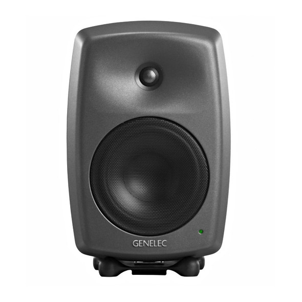 Genelec 8340A Bi-Amplified Smart Active Monitors, Dark Grey (Pair)
