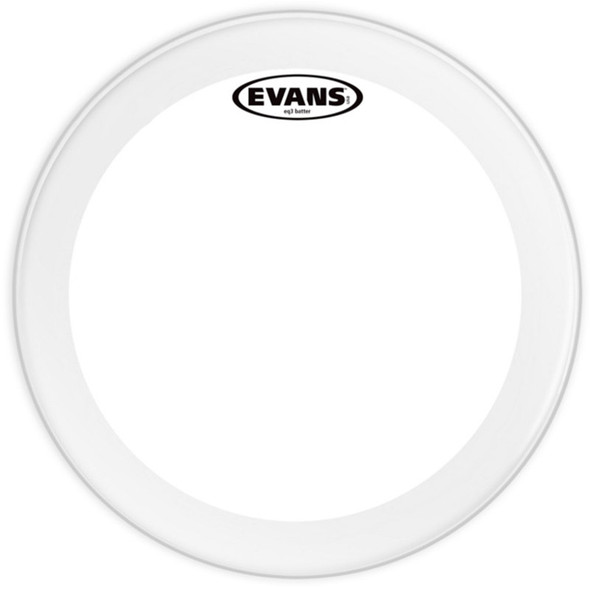 Evans BD22GB3C Frosted EQ3 Bass Drum Head, 22 Inch