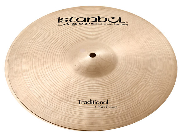 Istanbul Traditional 17-inch Light Hi-Hat Cymbals