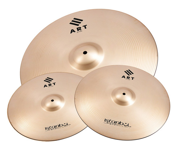 Istanbul ART Cymbal Set 14, 16, 20-inch, Includes Bag
