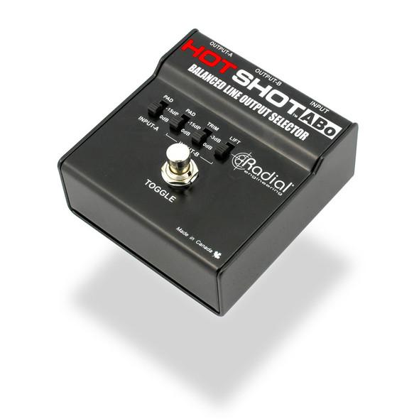 Radial HotShot ABo Balanced Line Output Switcher