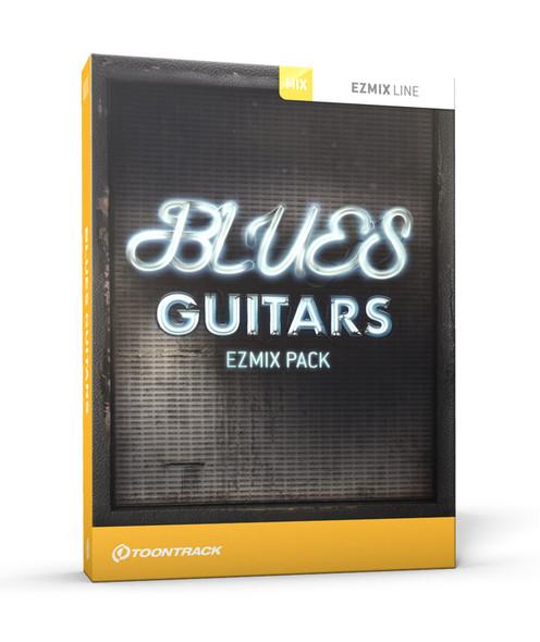 Toontrack Blues Guitars EZmix Pack (requires EZMix 2) (Serial Download)
