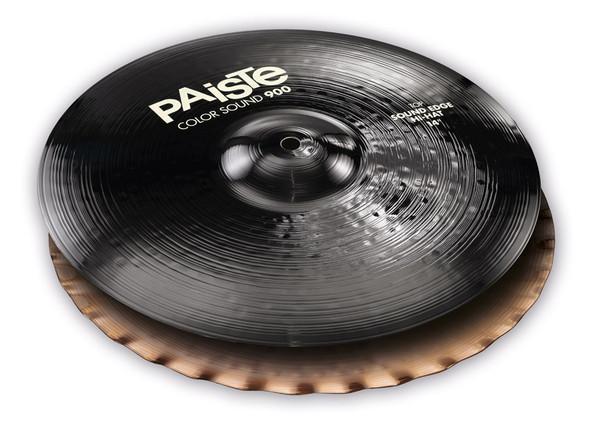 Paiste Color Sound 900 Black 14-inch Sound Edge Hi-Hat Cymbals