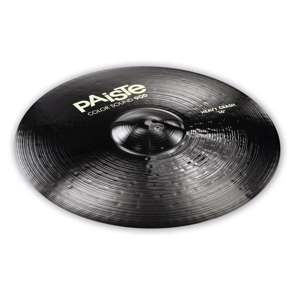 Paiste Color Sound 900 Black 16-inch Heavy Crash Cymbal