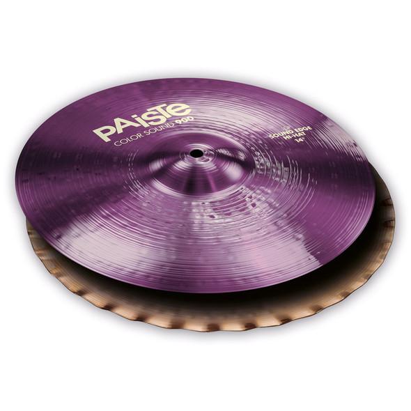 Paiste Color Sound 900 Purple 14-inch Sound Edge Hi-Hat Cymbals