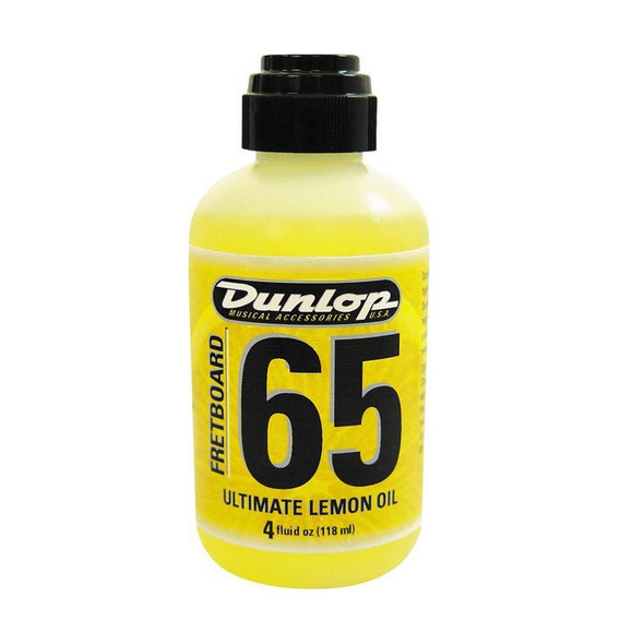 Dunlop 6554 Lemon Oil, 4 Oz