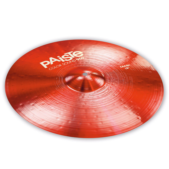 Paiste Color Sound 900 Red 18-inch Crash Cymbal