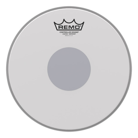 Remo BE-0114-10 Emperor Coated Bottom Black Dot 14 Inch Drum Head