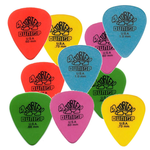 Dunlop Plectrums/Picks Assorted (10 pack)