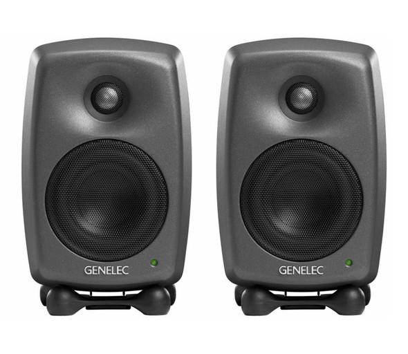 Genelec 8020D Active Studio Monitors, Pair