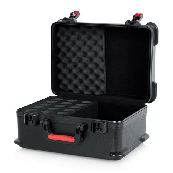 Gator GTSA-MIC15 Hard Case for 15 Microphones