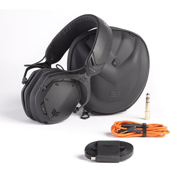 V-Moda Crossfade 2 Wireless Headphones, Matt Black Metal