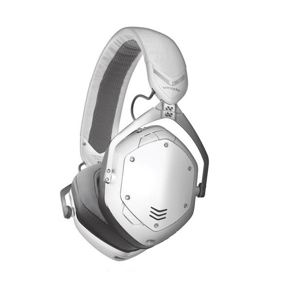 V-Moda Crossfade 2 Wireless Headphones, Matt White