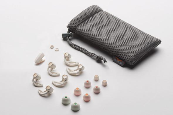 V-Moda Forza Metallo Wireless Earphones, White Silver