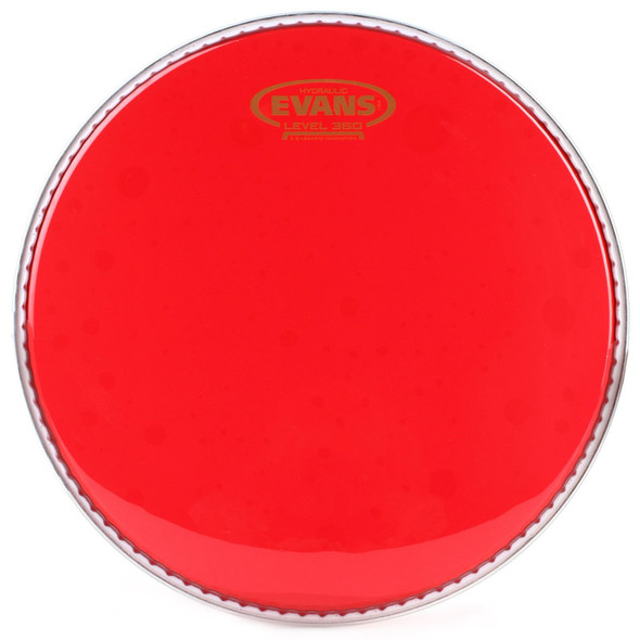Evans TT12HR 12-inch Hydraulic Red Drum Head