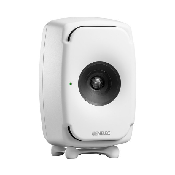 Genelec 8331 SAM Active Studio Monitor with DSP, White, Single