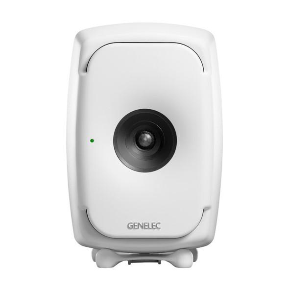Genelec 8341 SAM Active Studio Monitor with DSP, White, Single