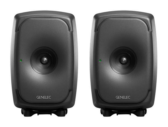Genelec 8341 SAM Active Studio Monitors with DSP, Grey, Pair