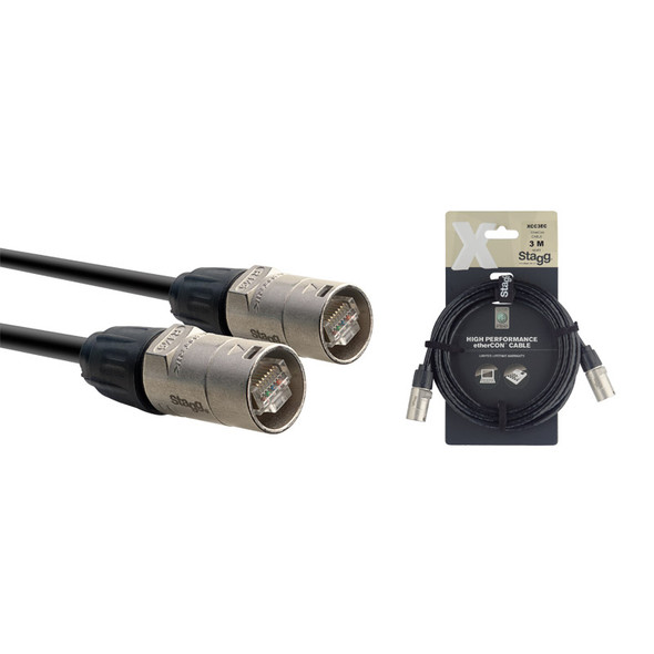 Stagg XCC3EC 3m/10ft Ethercon Cable