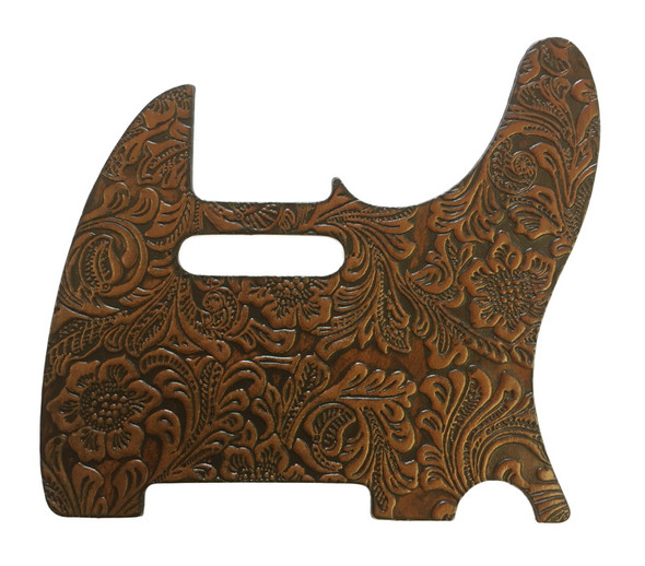 Right On Straps Pickguard T-Style, Floral Woody