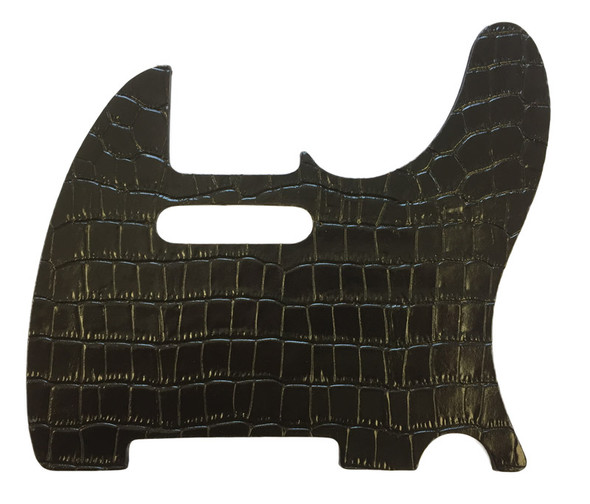Right On Straps Pickguard T-Style, Coco Black