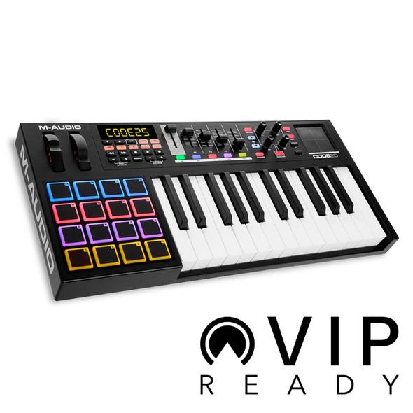 M-Audio Code 25 Black USB MIDI Controller Keyboard