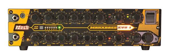 Markbass EVO 1 500 Watt Dual Channel Bass Amplifier Head