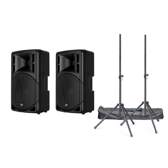 RCF ART 312-A Mk4 Active PA Speaker Bundle