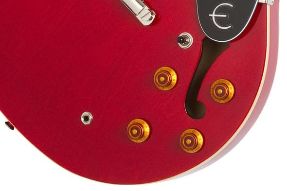 Epiphone Dot 335 Hollowbody Electric Guitar, Cherry
