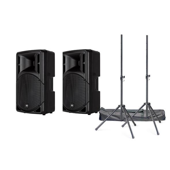 RCF ART 315-A Mk4 Active PA Speaker Bundle