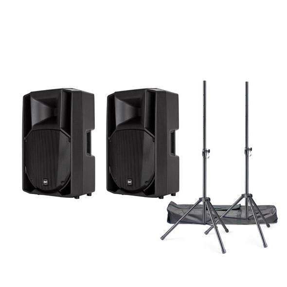 RCF ART 715-A Mk4 Digital Active PA Speaker Bundle
