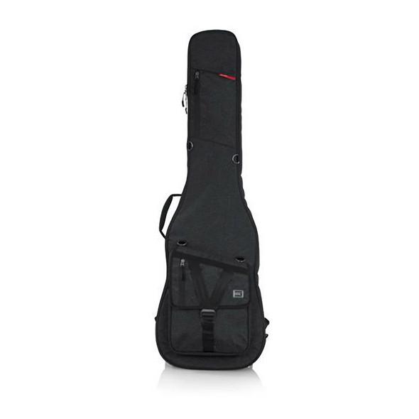 Gator GT-BASS-BLK Transit Series Bass Guitar Gig Bag, Black