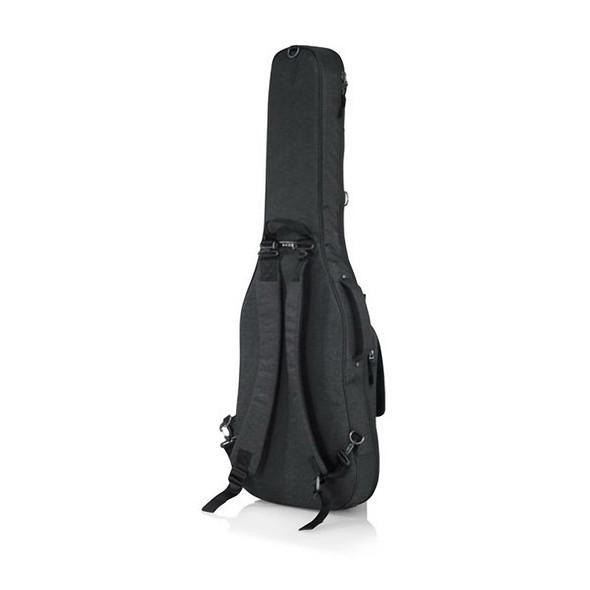 Gator GT-ELECTRIC-BLK Transit Series Electric Guitar Gig Bag, Black